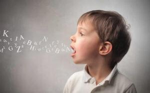 child sound language errors